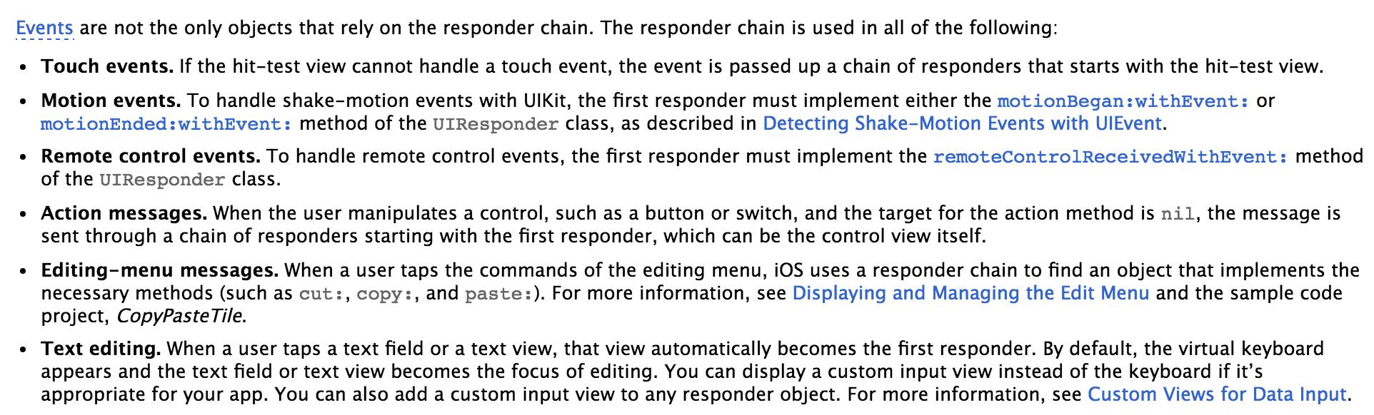 responder chain