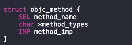 struct objc_method